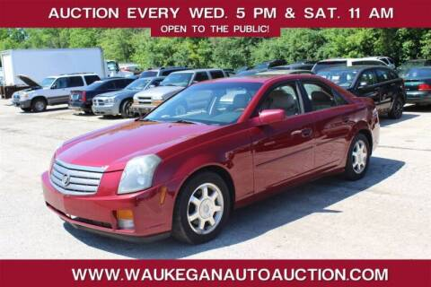 2004 Cadillac CTS for sale at Waukegan Auto Auction in Waukegan IL