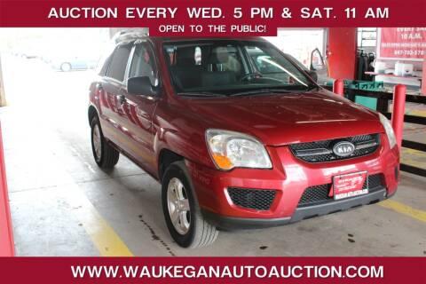 2009 Kia Sportage for sale at Waukegan Auto Auction in Waukegan IL