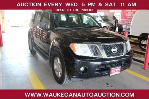 2010 Nissan Pathfinder for sale at Waukegan Auto Auction in Waukegan IL