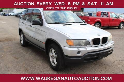 2001 BMW X5 for sale at Waukegan Auto Auction in Waukegan IL
