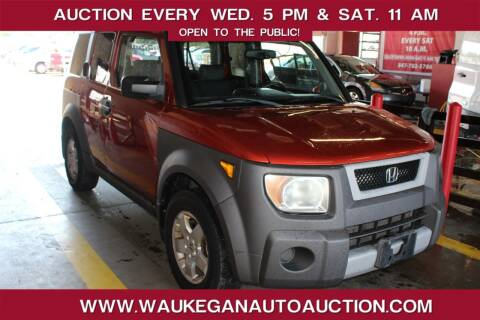 2003 Honda Element for sale at Waukegan Auto Auction in Waukegan IL