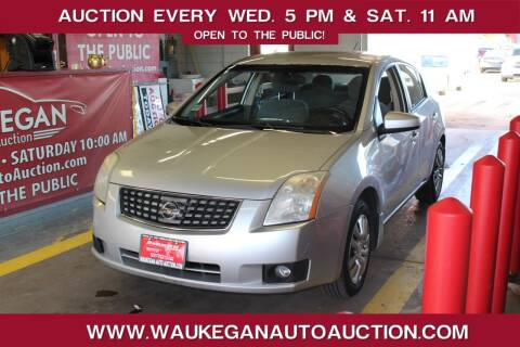 2007 Nissan Sentra for sale at Waukegan Auto Auction in Waukegan IL