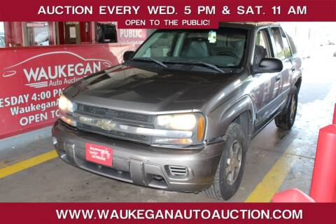2005 Chevrolet TrailBlazer for sale at Waukegan Auto Auction in Waukegan IL