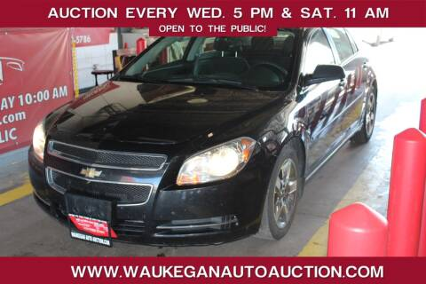 2010 Chevrolet Malibu for sale at Waukegan Auto Auction in Waukegan IL