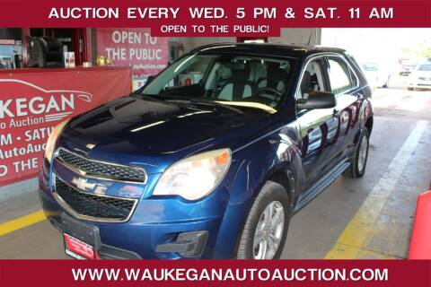 2010 Chevrolet Equinox for sale at Waukegan Auto Auction in Waukegan IL