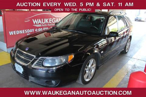 2008 Saab 9-5 for sale at Waukegan Auto Auction in Waukegan IL