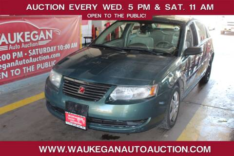 2006 Saturn Ion for sale at Waukegan Auto Auction in Waukegan IL
