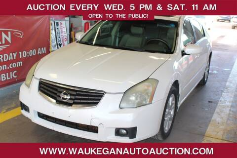 2007 Nissan Maxima for sale at Waukegan Auto Auction in Waukegan IL