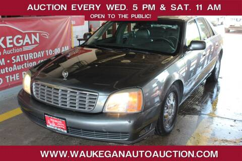 2005 Cadillac DeVille for sale at Waukegan Auto Auction in Waukegan IL