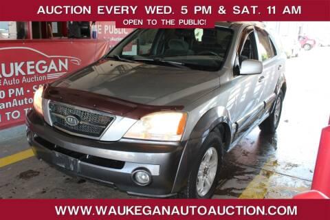 2003 Kia Sorento for sale at Waukegan Auto Auction in Waukegan IL