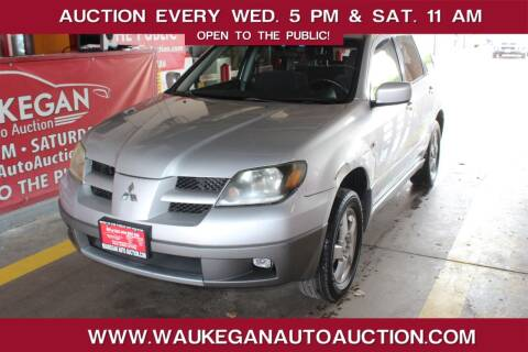 2003 Mitsubishi Outlander for sale at Waukegan Auto Auction in Waukegan IL