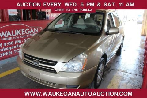 2006 Kia Sedona for sale at Waukegan Auto Auction in Waukegan IL