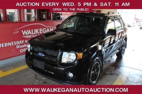 2011 Ford Escape for sale at Waukegan Auto Auction in Waukegan IL