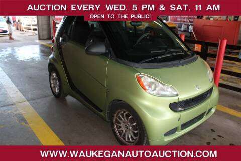 2011 Smart fortwo for sale at Waukegan Auto Auction in Waukegan IL