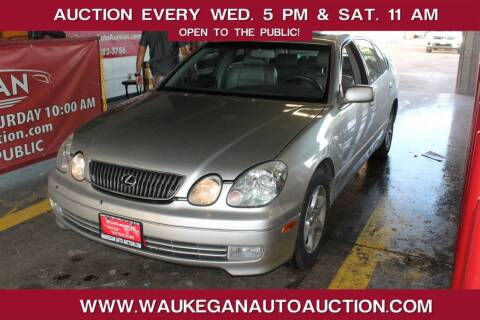 2001 Lexus GS 300 for sale at Waukegan Auto Auction in Waukegan IL