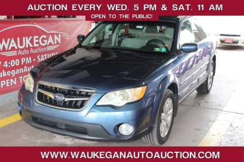 2008 Subaru Outback for sale at Waukegan Auto Auction in Waukegan IL