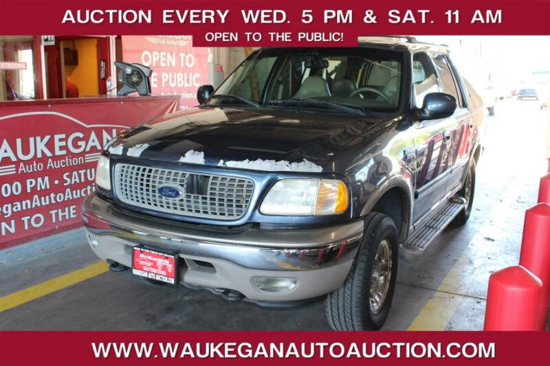 2001 Ford Expedition for sale at Waukegan Auto Auction in Waukegan IL