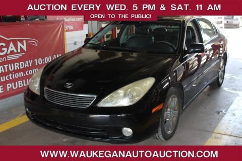 2005 Lexus ES 330 for sale at Waukegan Auto Auction in Waukegan IL