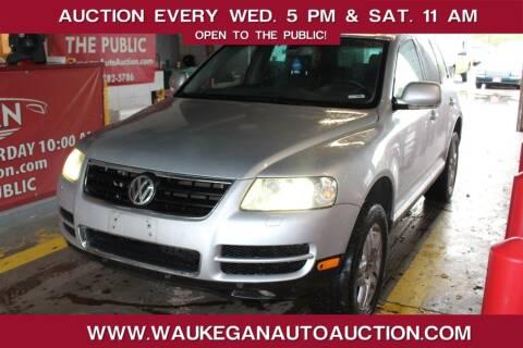 2004 Volkswagen Touareg for sale at Waukegan Auto Auction in Waukegan IL