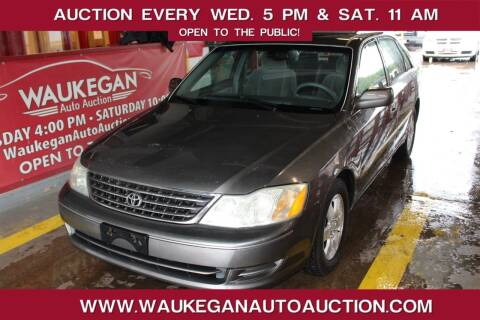 2003 Toyota Avalon for sale at Waukegan Auto Auction in Waukegan IL
