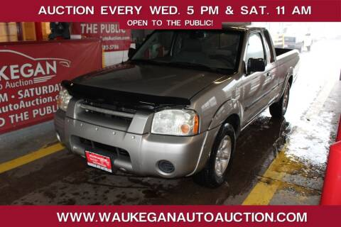 2002 Nissan Frontier for sale at Waukegan Auto Auction in Waukegan IL