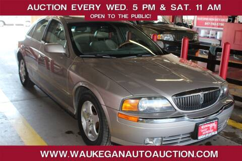 2000 Lincoln LS for sale at Waukegan Auto Auction in Waukegan IL