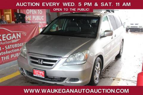 2005 Honda Odyssey for sale at Waukegan Auto Auction in Waukegan IL