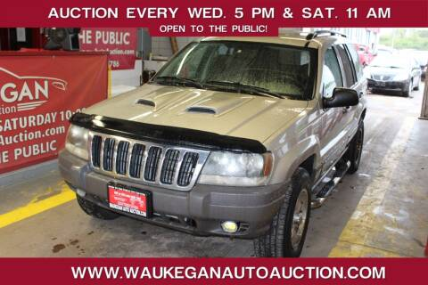 2003 Jeep Grand Cherokee for sale at Waukegan Auto Auction in Waukegan IL