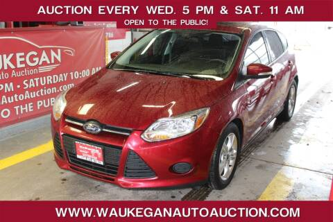 2013 Ford Focus for sale at Waukegan Auto Auction in Waukegan IL