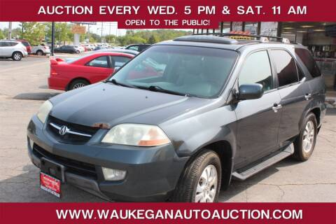 2003 Acura MDX for sale at Waukegan Auto Auction in Waukegan IL