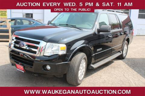 2008 Ford Expedition EL for sale at Waukegan Auto Auction in Waukegan IL