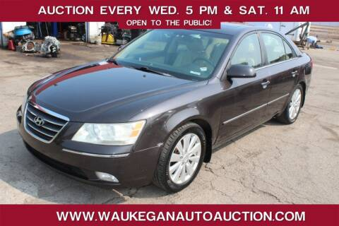 2009 Hyundai Sonata for sale at Waukegan Auto Auction in Waukegan IL