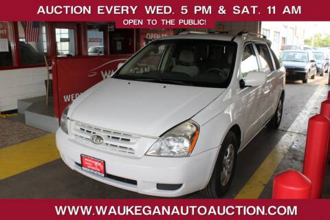 2009 Kia Sedona for sale at Waukegan Auto Auction in Waukegan IL