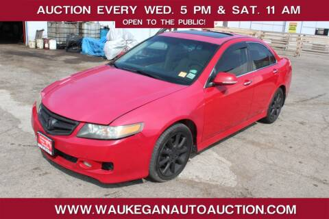 2008 Acura TSX for sale at Waukegan Auto Auction in Waukegan IL