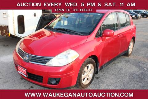 2007 Nissan Versa for sale at Waukegan Auto Auction in Waukegan IL