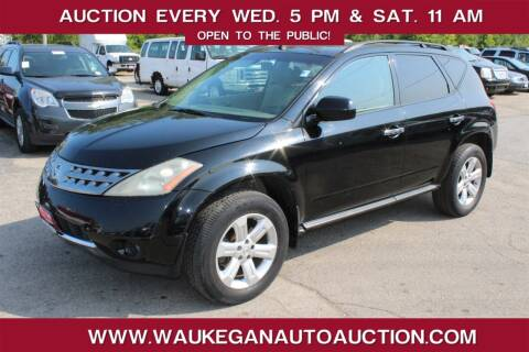 2007 Nissan Murano for sale at Waukegan Auto Auction in Waukegan IL