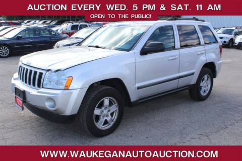 2007 Jeep Grand Cherokee for sale at Waukegan Auto Auction in Waukegan IL