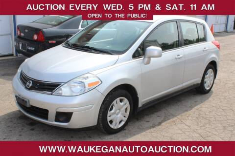 2010 Nissan Versa for sale at Waukegan Auto Auction in Waukegan IL