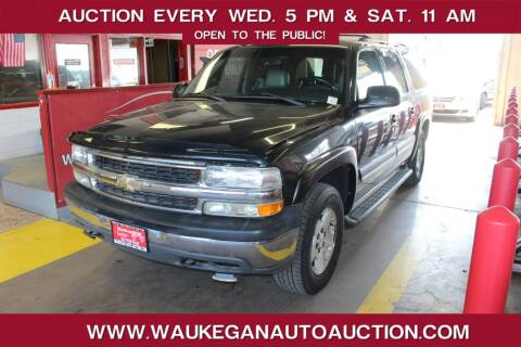 2005 Chevrolet Suburban for sale at Waukegan Auto Auction in Waukegan IL