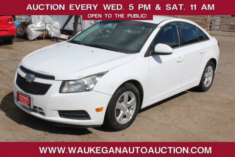 2013 Chevrolet Cruze for sale at Waukegan Auto Auction in Waukegan IL