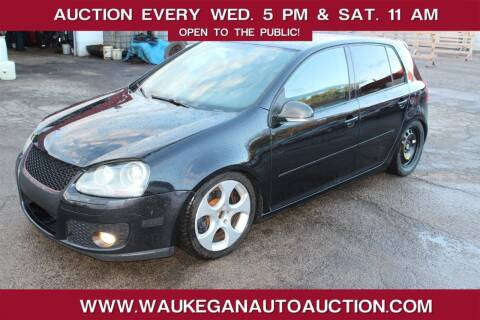 2007 Volkswagen GTI for sale at Waukegan Auto Auction in Waukegan IL