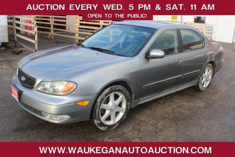 2004 Infiniti I35 for sale at Waukegan Auto Auction in Waukegan IL