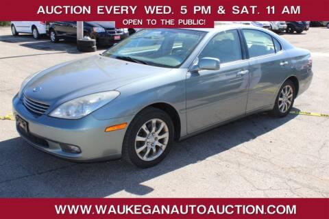 2003 Lexus ES 300 for sale at Waukegan Auto Auction in Waukegan IL