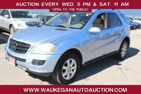 2006 Mercedes-Benz M-Class for sale at Waukegan Auto Auction in Waukegan IL