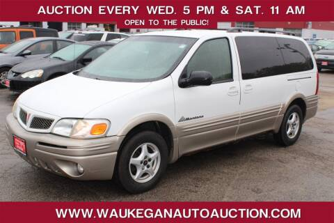 2004 Pontiac Montana for sale at Waukegan Auto Auction in Waukegan IL