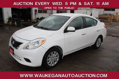 2013 Nissan Versa for sale at Waukegan Auto Auction in Waukegan IL