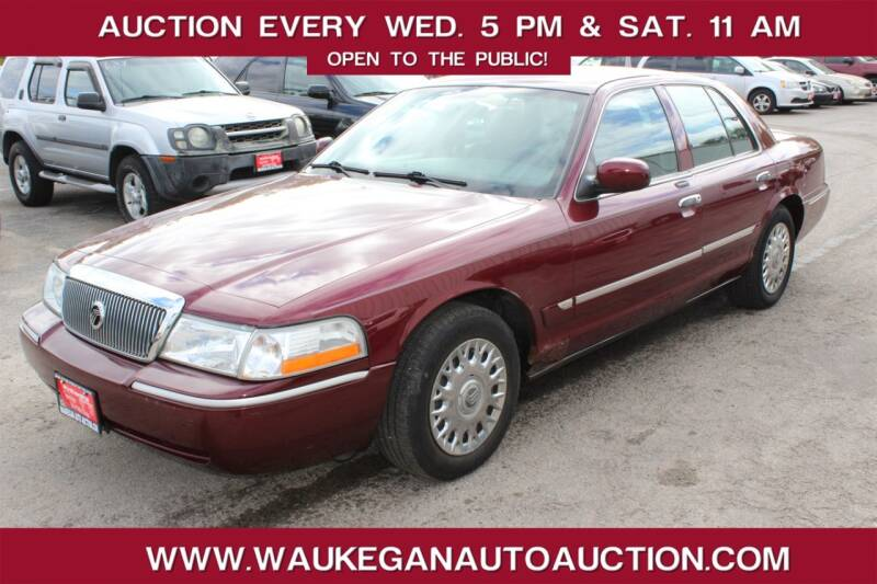 2004 Mercury Grand Marquis for sale at Waukegan Auto Auction in Waukegan IL