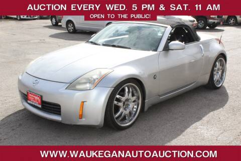 2004 Nissan 350Z for sale at Waukegan Auto Auction in Waukegan IL