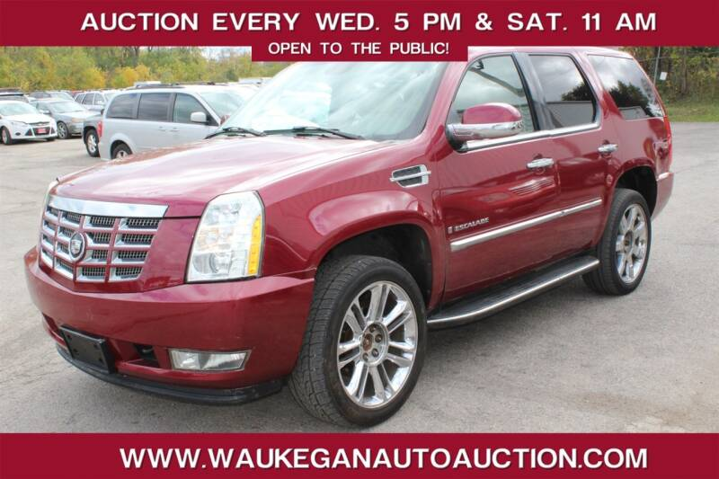 2007 Cadillac Escalade for sale at Waukegan Auto Auction in Waukegan IL