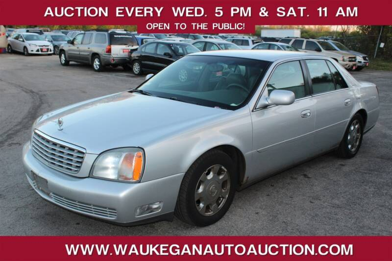 2002 Cadillac DeVille for sale at Waukegan Auto Auction in Waukegan IL